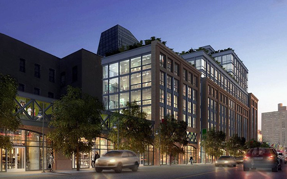 Rendering of the condo conversion of Essex Market on the Lower East Side.