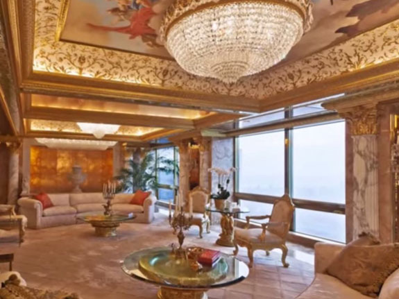 Donald trump federal election commission trump tower for Trump tower new york penthouse