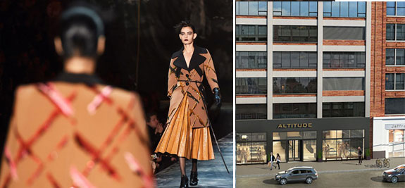 A fashion show and 451 West 14th Street