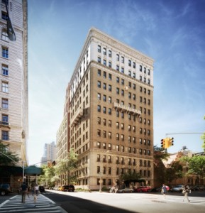 Rendering of 260 West 78th Street on the Upper West Side (credit: COOKFOX)