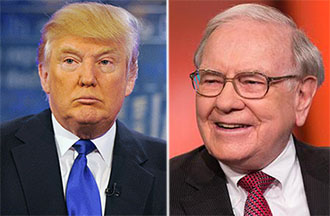 Donald Trump Warren Buffett