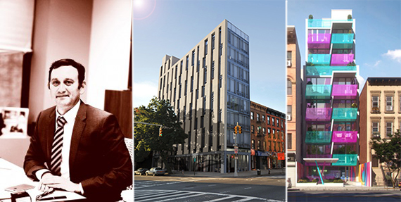 From left: Eran Polack, 2338 Second Avenue and 329 Pleasant Avenue, both in Harlem