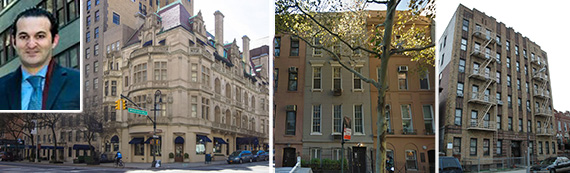 Michael Wahba, 28 East 72nd Street, 48 East 79th Street and 1500 Carroll Street