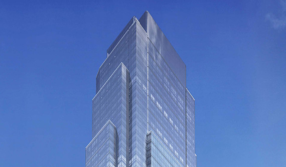 Rendering of Queens Park Plaza in Long Island City (credit: SLCE Architects)