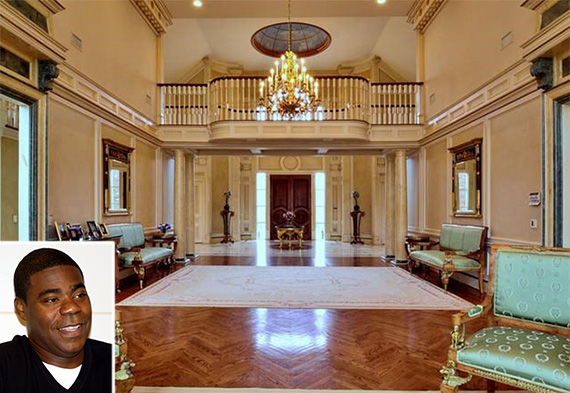 Tracy Morgan (inset) bought an Alpine, N.J., mansion for $14 million
