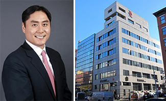 From left: Andrew Chung and 202 Canal Street