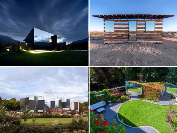 Mirror homes from around the world