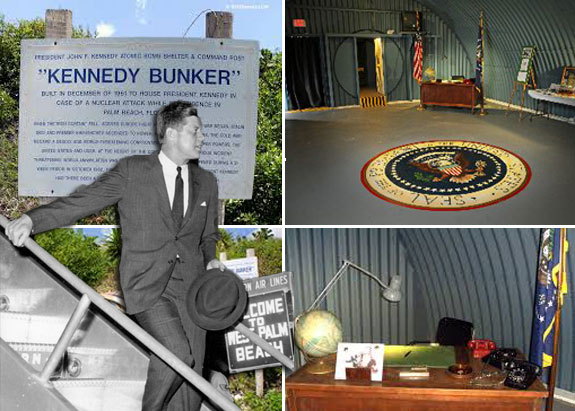 JFK anf  his Palm Beach bunker