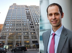 180 Madison Avenue in Midtown and Eric Adler
