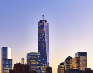 1 World Trade Center in the Financial District