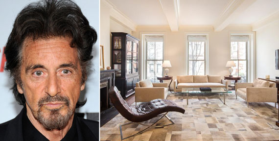 Al Pacino and 64 Bank Street in the West Village