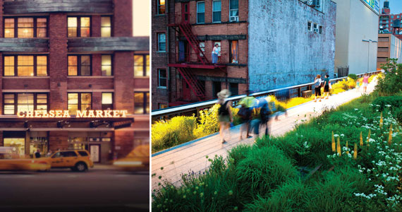 Chelsea Market and the High Line are big draws to the chic neighborh