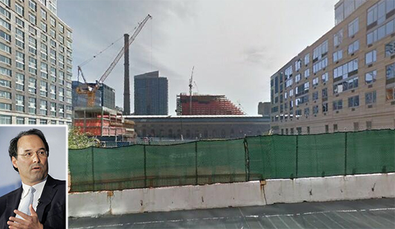Vacant lot near West Side Highway and West 62nd