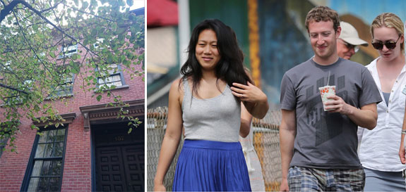 157 West 12th Street and Facebook founder Mark Zuckerberg and his wife Priscilla Chan