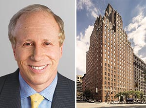 From left: Larry Gluck and the Paris New York on the Upper West Side