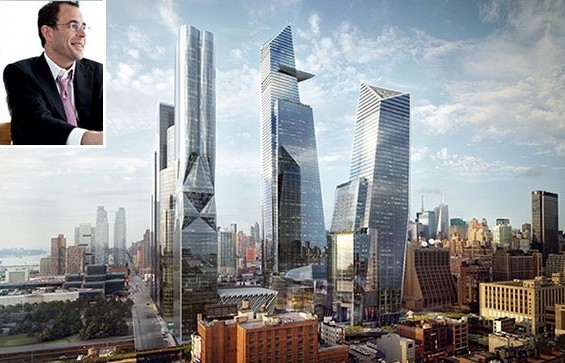 Hudson Yards Blau Jeff