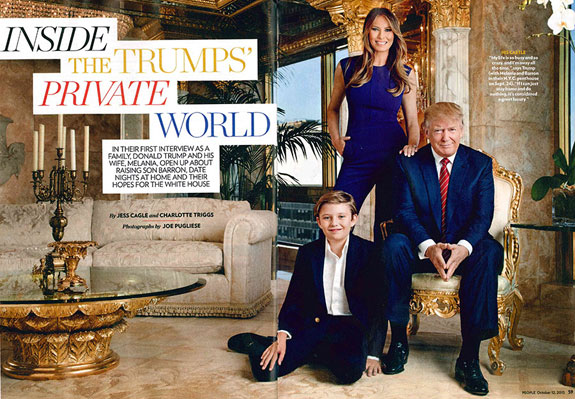 The People Magazine Trump spread