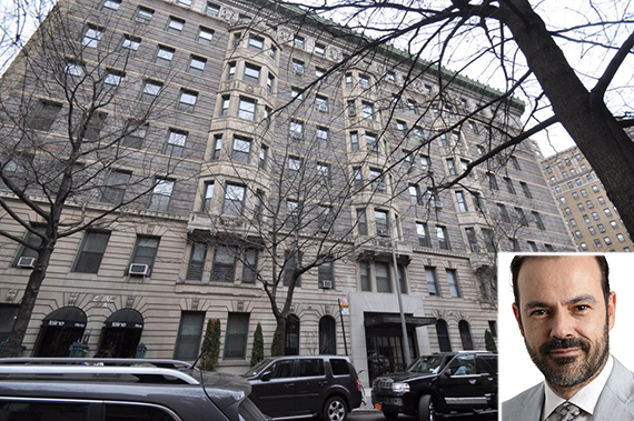 235 West 75th Street on the Upper West Side (inset: Mauricio Amaro)