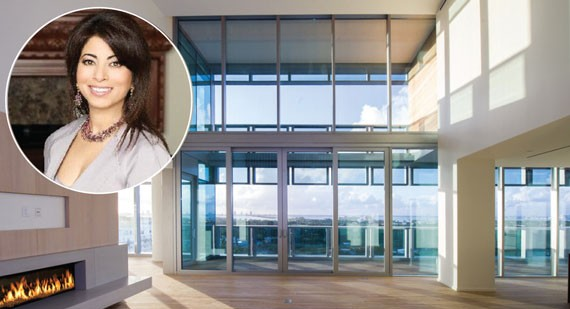 Poonam Khubani listed her penthouse at the swanky Miami Beach Edition for $27.5 million in September - See more at: http://therealdeal.com/miami/issues_articles/south-florida-stargazing/#sthash.g15gcWMv.dpuf