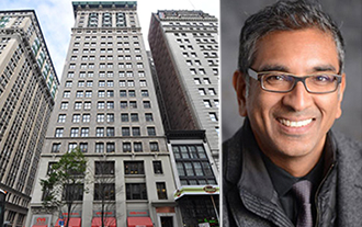 From left: 215 Park Avenue South and Vishaan Chakrabarti