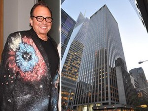 Douglas Durst (credit: Billy Farrell Agency) and 1133 Sixth Avenue in Midtown
