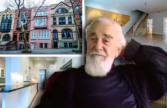 Al Hirschfeld and his UES home