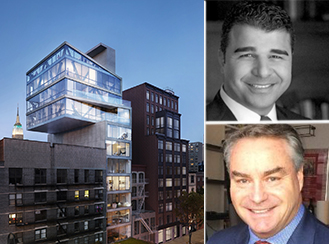 251 West 14th Street; Top: Ilan Bracha, co-founder of B+B Capital; Bottom: Rance MacFarland, CEO of Pa