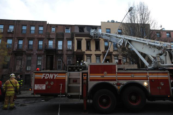 The FDNY at 440 Jefferson Ave.