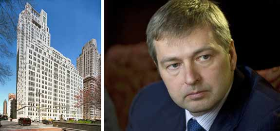 15 Central Park West and Dmitry Rybolovlev