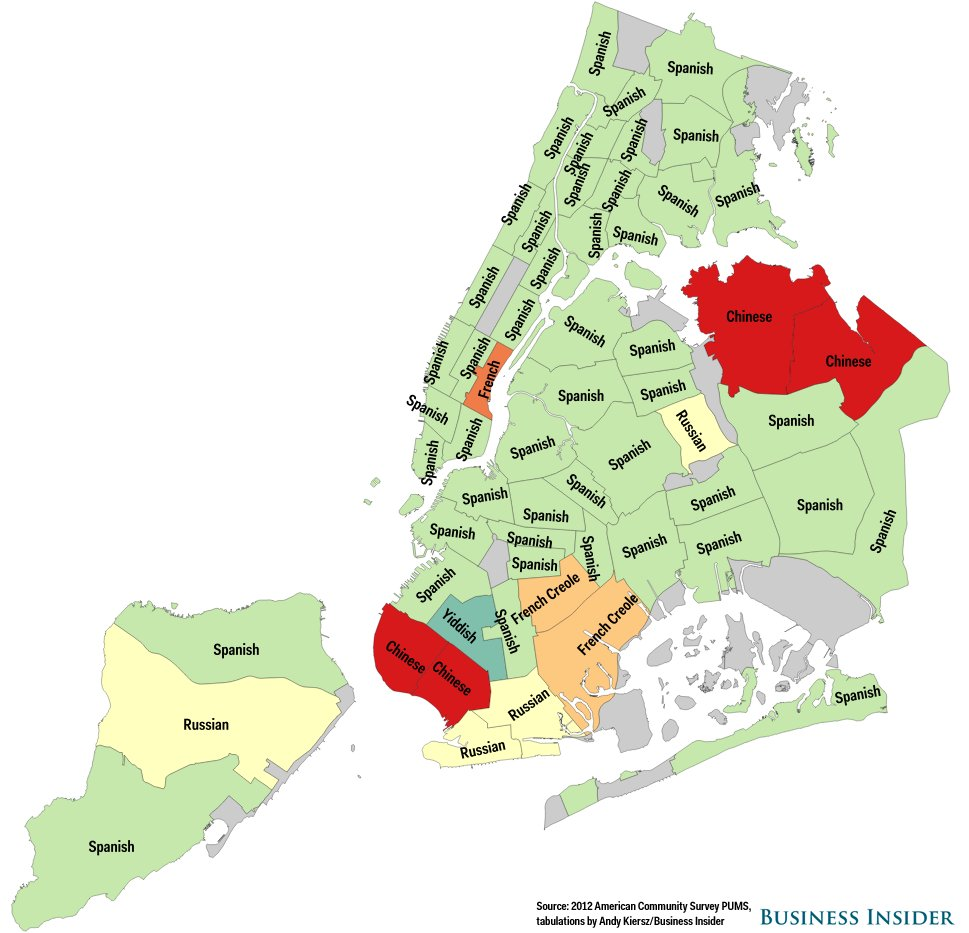 map of queens neighborhoods new york city with Heres The Most  Monly Spoken Language In Every New York Neighborhood That Isnt English Or Spanish on Hammerstein Ballroom additionally 363454632402884465 besides New York From The 1940s To Now besides Images search subway map 2015 type images startpage 3 also 55211.