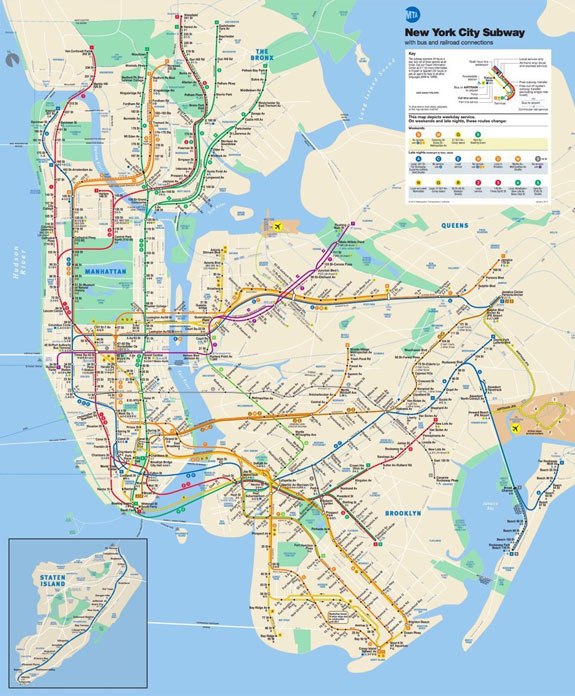 how to take the subway in new york