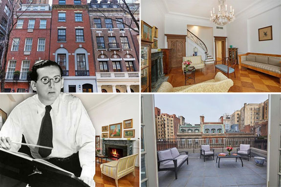 46 East 65th Street and Franz Waxman )credit wiki)