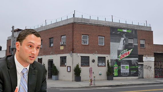 Matthew Baron and 12 Franklin Street in Greenpoint
