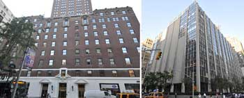 From left: 200 Madison Avenue and 63 Madison Avenue