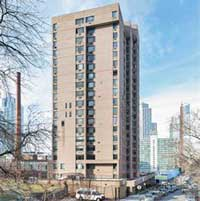 240 Willoughby Street on the border between Fort Greene and Downtown Brooklyn (Credit Cushman & Wakefield)