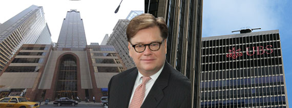 PricewaterhouseCooper's Byron Carlock with 787 Seventh Avenue and 1285 Sixth Avenue