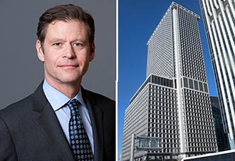 From left: Brookfield's Ric Clark and One New York Plaza