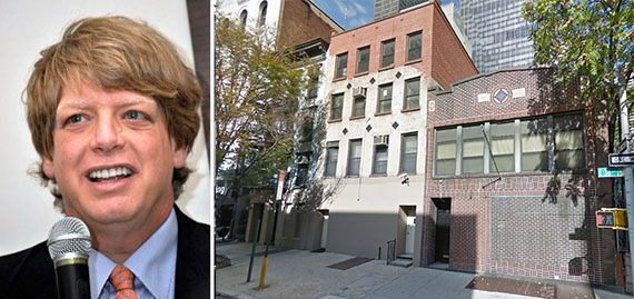 From left: Lloyd Goldman and 211-215 East 38th Street