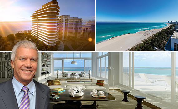 Larry Gagosian and Faena House renderings