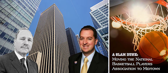 Arthur Mirante and Martin Cottingham with 1133 Avenue of the Americas