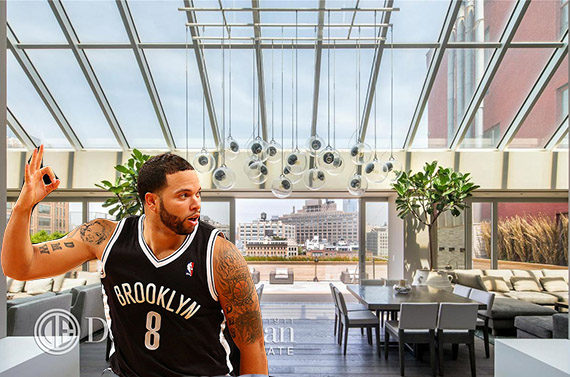 Deron Williams and his Merchants House pad