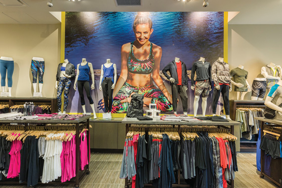 Kate Hudson's Fabletics sports brand has branches in less well-known places like Bridgewater, New Jersey
