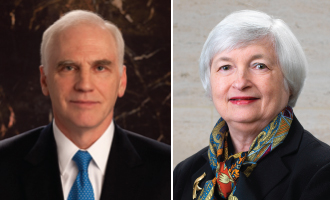 Daniel Tarullo and Janet Yellen