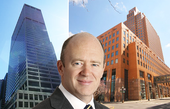 345 Park Avenue, John Cryan and 4 Metrotech Center