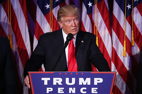 President-elect Donald Trump (credit: Getty Images)