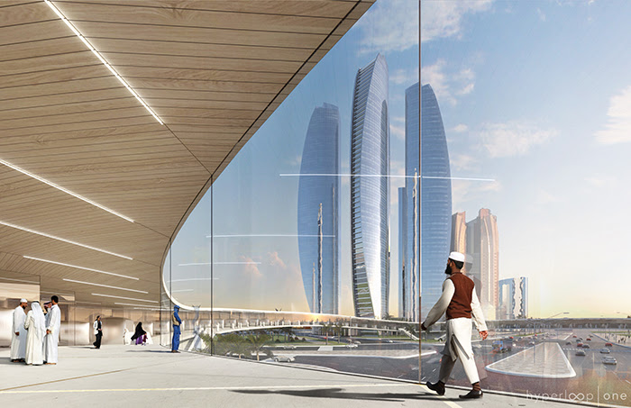 BIG is designing all the hyperloop spaces for a feasibility study