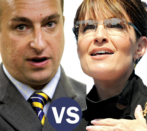 Sharif El-Gamal and Sarah Palin