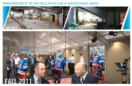 First Phase Of 850 Million Msg Renovation Project Complete