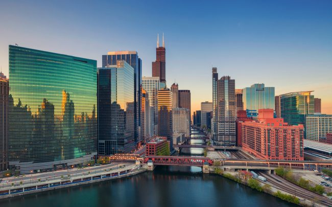 Chicago At Dawn Credit Istock