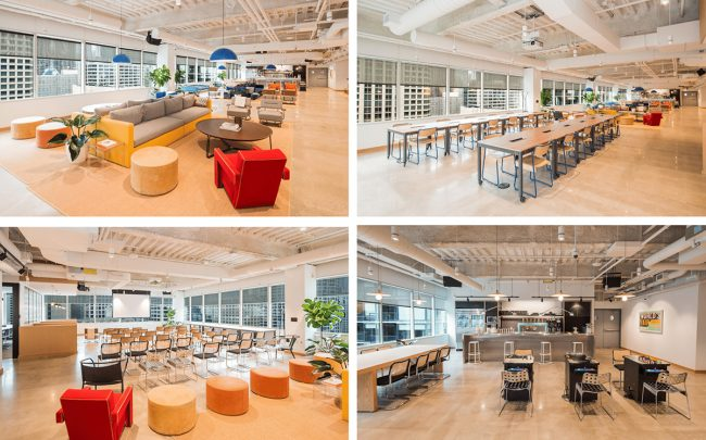 WeWork private event spaces in Chicago
